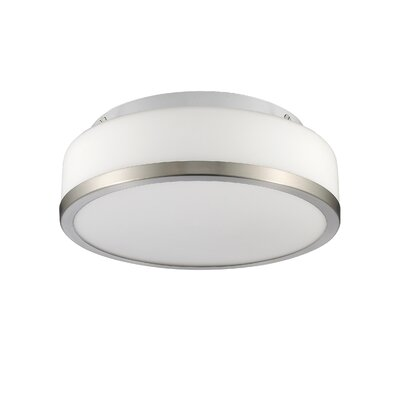Straw 1-Light Flush Mount