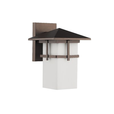 Cottage 1-Light Outdoor Wall Lantern