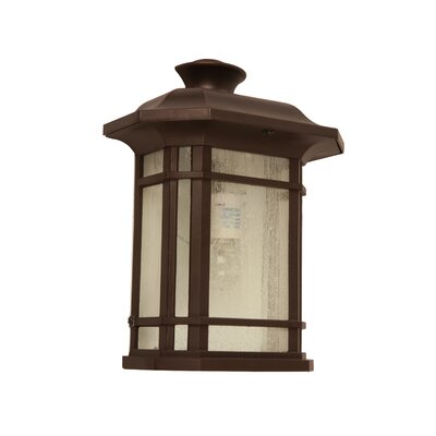 Franks 1-Light Outdoor Flush Mount