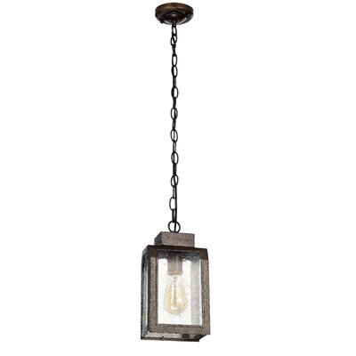 Abram 1-Light Mini Pendant Finish: Antique Gold