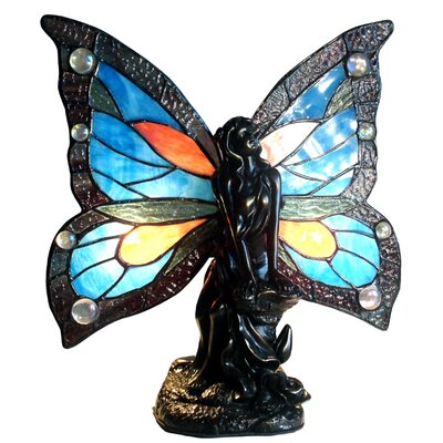 Tiffany Style Fairy Accent Table Lamp