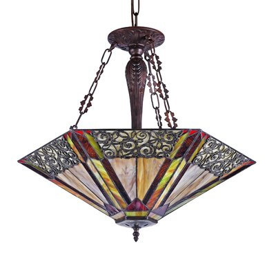 Francois 3-Light Bowl Pendant