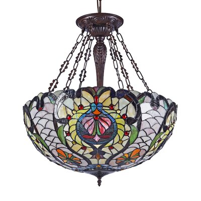 Nasiba 4-Light Bowl Pendant