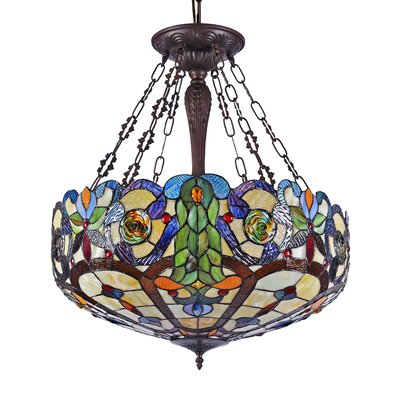 Olivier 4-Light Bowl Pendant