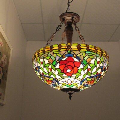 Rei 3-Light Bowl Pendant