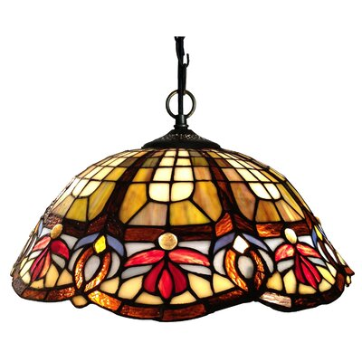 Chloe 2-Light Victorian Pendant