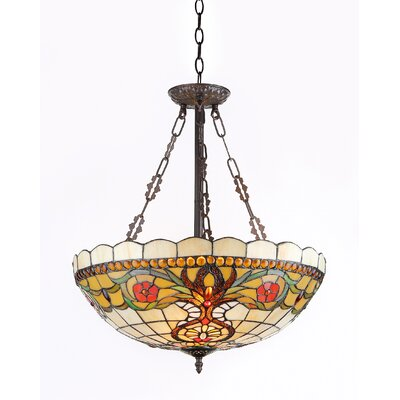 Masterson 3-Light Inverted Hanging Pendant