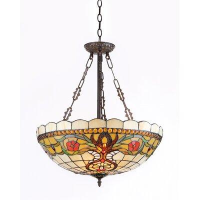 Berleena 3-Light Inverted Hanging Pendant