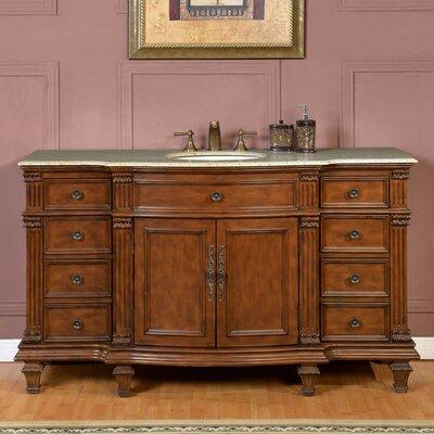 60 Single Sink Cabinet Bathroom Vanity Set