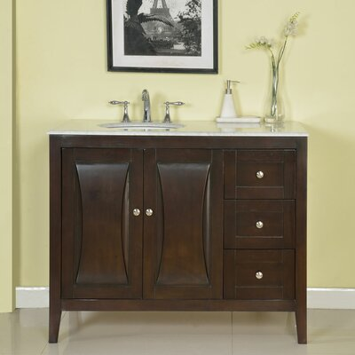 "45"" Single Sink Cabinet Bathroom Vanity Set"