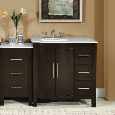 53.5 Single Sink Lavatory Cabinet Modular Bathroom Vanity Set