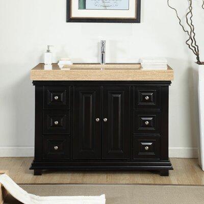 48 Single Integrated Bathroom Vanity Set