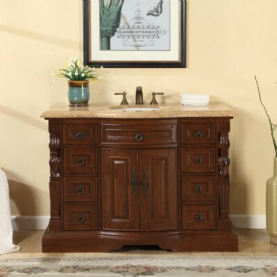 48 Single Sink Bathroom Vanity Set