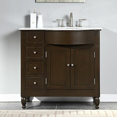 Kelston 38 Single Bathroom Vanity Set