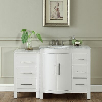 Kimberly 54 Single Bathroom Vanity Set