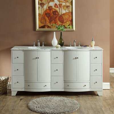 Merrimack 72 Double Bathroom Vanity Set