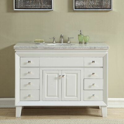 Litchford 48 Transitional Single Bathroom Vanity Set Size: 36 H x 60 W x 22 D