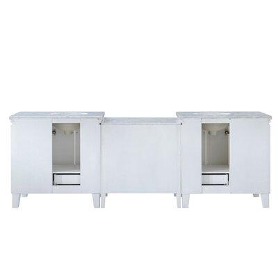 Reynolds 103 Transitional Double Bathroom Vanity Set