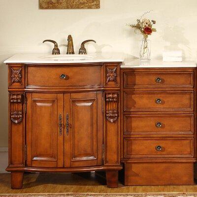 Savannah 52 Single Bathroom Vanity Set