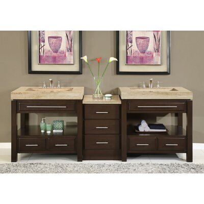 Chester 92 Double Bathroom Vanity Set