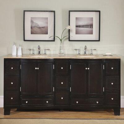 Merrimack 72 Double Bathroom Vanity Set
