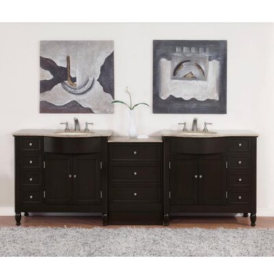 Hamilton 95 Double Bathroom Vanity Set