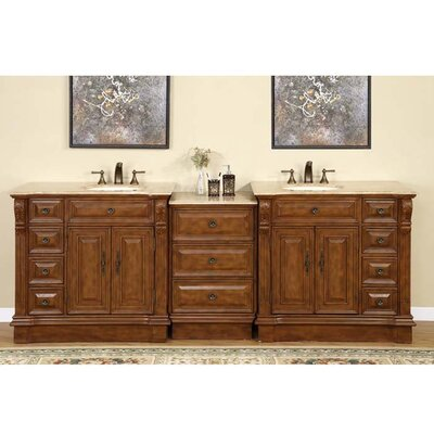 Looking For Charlotte 95 Double Bathroom Vanity Set Low