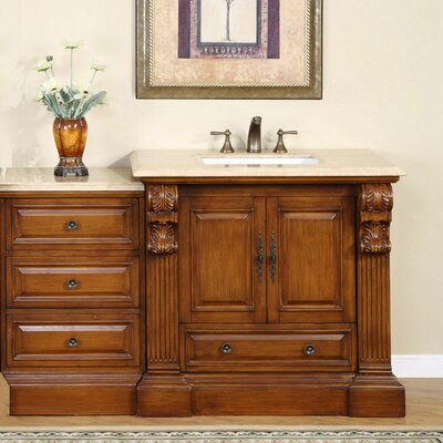 Montgomery 58 Single Bathroom Vanity Set