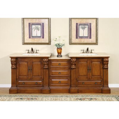 Montgomery 95 Double Bathroom Vanity Set