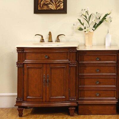 Brennon 51 Single Bathroom Vanity Set