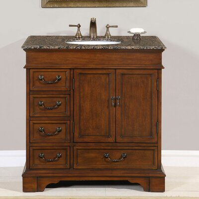 Eichler 36 Single Bathroom Vanity Set