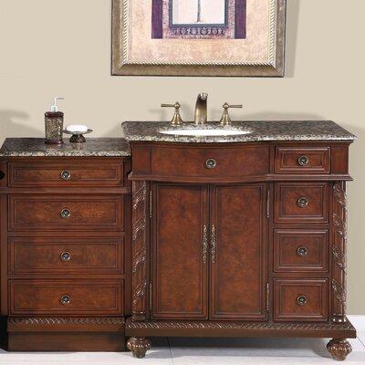 Victoria 56 Single Bathroom Vanity Set Sink Location: Sink on the Left