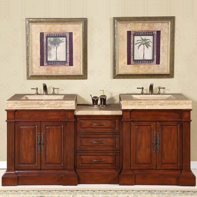 Stanton 83 Double Bathroom Vanity Set