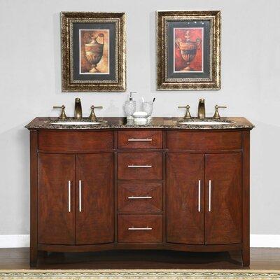 Cambridge 58 Double Bathroom Vanity Set