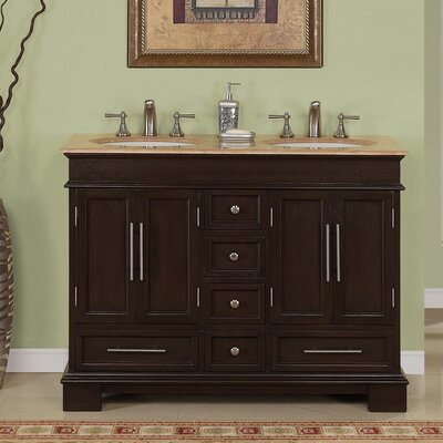 Hennen 48 Double Bathroom Vanity Set