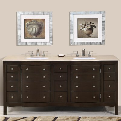 Prima 72 Double Bathroom Vanity Set
