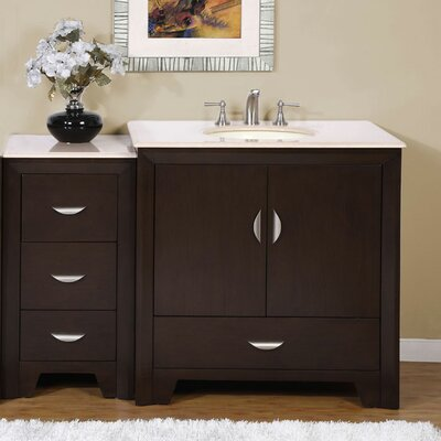 Ilene 54 Single Bathroom Vanity Set