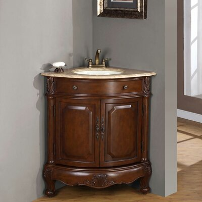"Hannah 32?"" Single Sink Cabinet Bathroom Vanity Set"