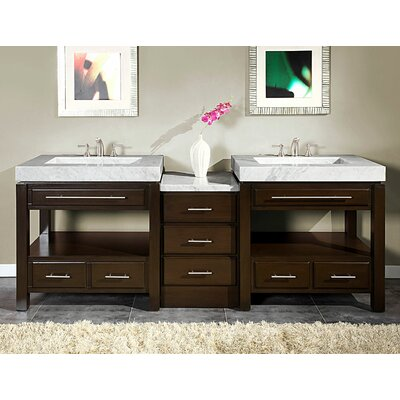 Stanton 92 Double Bathroom Vanity Set