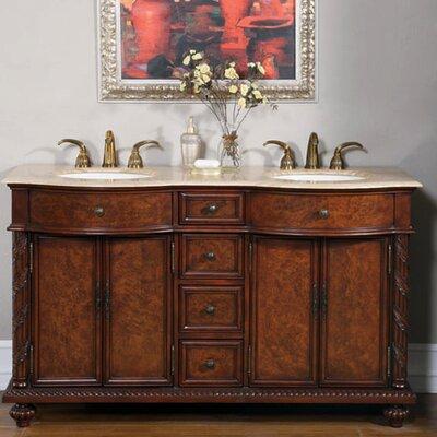 Butler 60 Double Bathroom Vanity Set