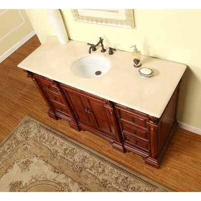 Cynthia 62 Single Bathroom Vanity Set