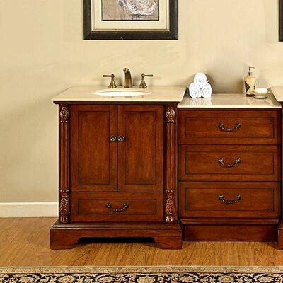 Casshern 56 Single Bathroom Vanity Set