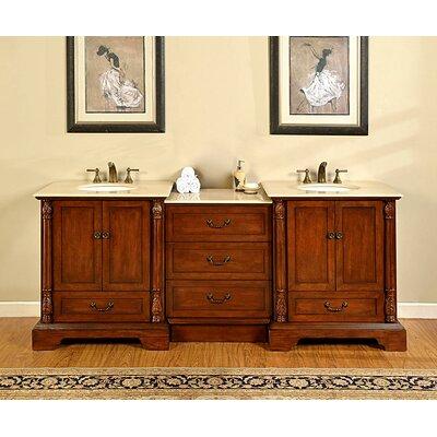 Casshern 87 Double Bathroom Vanity Set