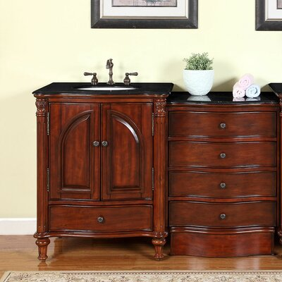 Leila 54 Single Bathroom Vanity Set