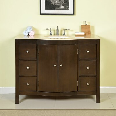 Bissette 48 Single Bathroom Vanity Set
