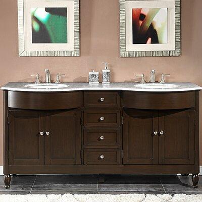 Kelston 72 Double Bathroom Vanity Set