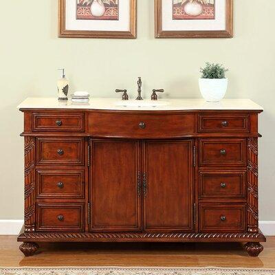 Brenneman 60 Single Bathroom Vanity Set