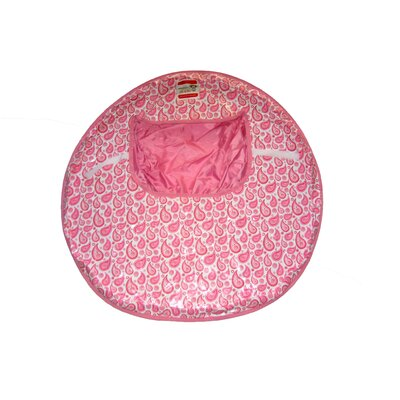 Neatnik Saucer High Chair Cover and Place Mat - Color/Pattern: The Sidney NS-SY Pink & Coral Mini-Paisley at Sears.com