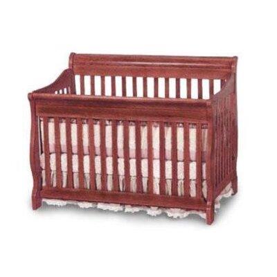 Dela 4-in-1 Convertible Crib Finish: White 9645