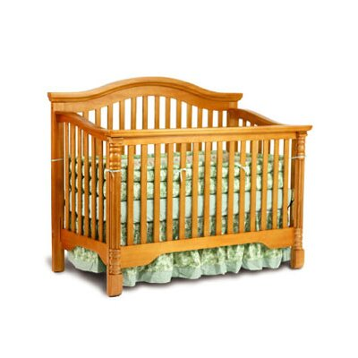 Mary 3-in-1 Convertible Crib Finish: Espresso 9662